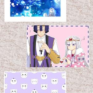 [魔王城でおやすみ]ポストカード3枚セット