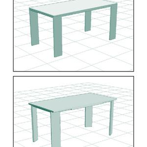 描画補助3D素材その8:テーブル
