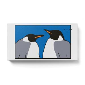 青ペンギンモバイルバッテリー