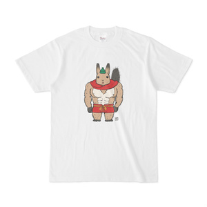 エゾリスさんTシャツ