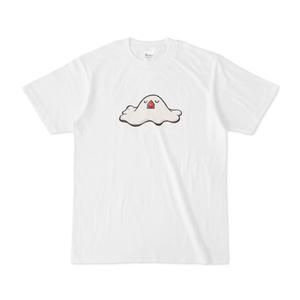 溶ける文鳥Tシャツ