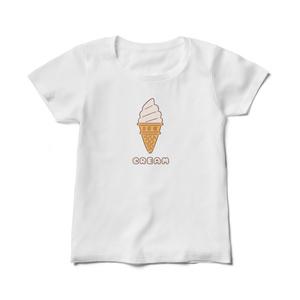 アイスクリームレディースTシャツ