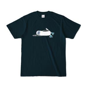やる気のないアオアシカツオドリTシャツ(紺)