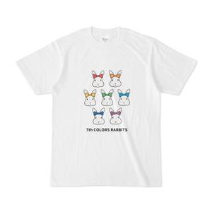 7色うさぎTシャツ