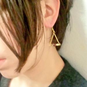 キューピッド耳飾り【愛弓】