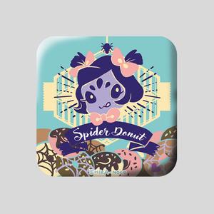 缶バッジ(Spider Donut)