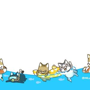 ななねこカード(夏)