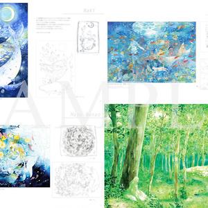 倉庫発送●STELLA BLUE -  合同イラスト本