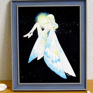 原画「mermaid falls」「星守り」(自宅発送商品)