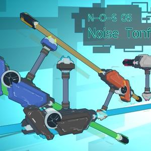 【VRChat向け】3Dモデル サイバー風トンファ N-O-S-05 NoiseTonfa