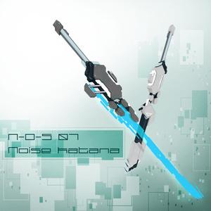 【VRChat向け】3Dモデル サイバー風カタナ N-O-S-07 NoiseKatana