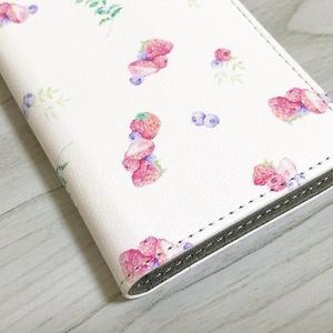 手帳型iPhoneケース(帯なし)
