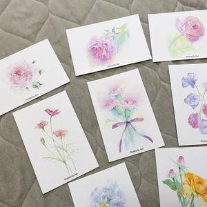 ポストカード各種【花3】