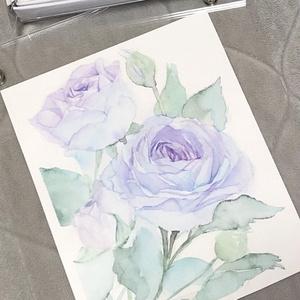 青薔薇の原画