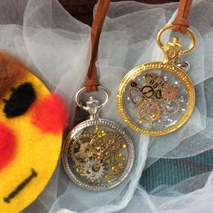 ゼンマイ恋時計モチーフネックレス