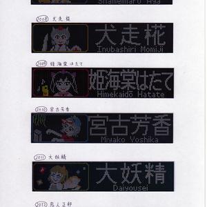 ◆【東方×鉄道マグネット】キャラドットシリーズ その2