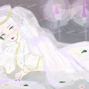 フランスの妃のイラスト