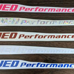 【S】UED Performance ステッカー