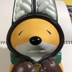 KTN どろぼう ソフビ貯金箱