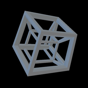 Tesseract Frame (Unity Object)