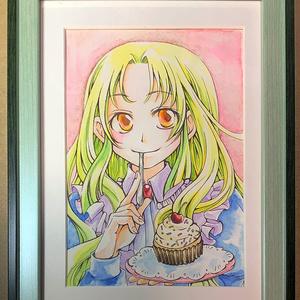原画『カップケーキ』