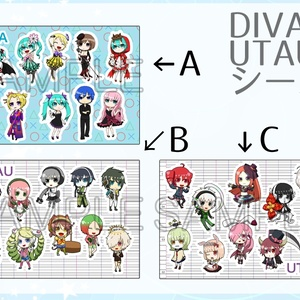 UTAU&DIVAシール