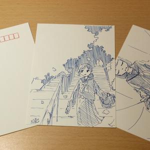 手描きポストカード
