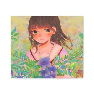 「10代にしがみつく女の子」 複製キャンバス