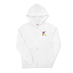 K☆パーカー(ホワイト)