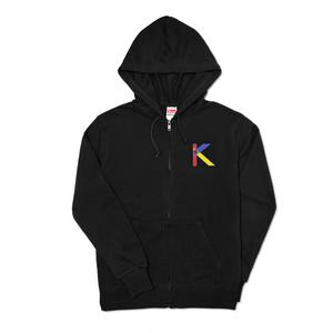 K☆パーカー(ブラック)