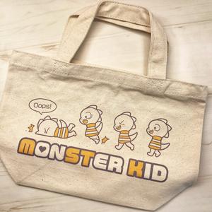 【完売御礼】モンスターキッド Sサイズトートバッグ