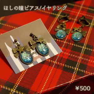 星の瞳ピアス/イヤリング
