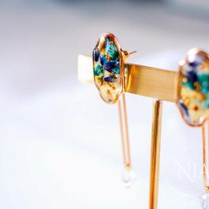 botanical×butterfly pierce