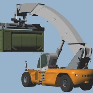 リーチスタッカー LRS-645
