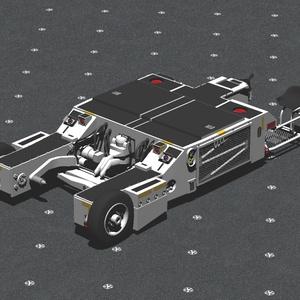 Trattore-a-s32a 航空機牽引車