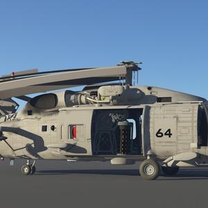 海上自衛隊 SH-60K哨戒ヘリ