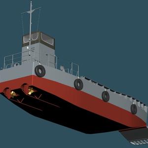 海上自衛隊 運荷船