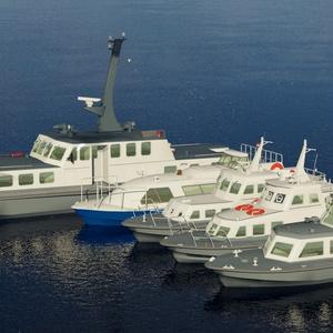 海上自衛隊 11m交通艇(内火艇)B