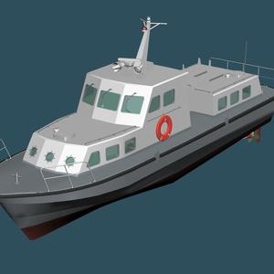 海上自衛隊 11m交通艇(内火艇)C