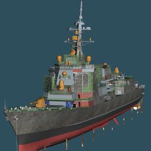 建造、整備中の護衛艦