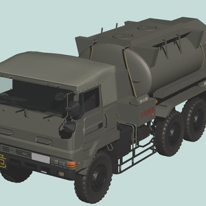 陸上自衛隊 73式航空燃料タンク車