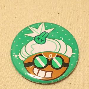 ドクターわさびクッキー缶バッジ