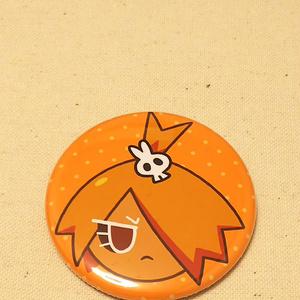 マスタード味クッキー缶バッジ