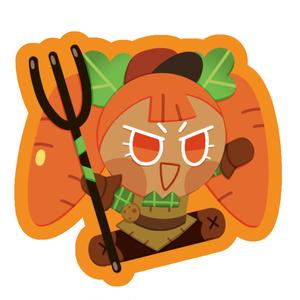 【クッキーラン】キャロット味クッキーアクリルキーホルダー