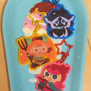【クッキーラン】ビート味クッキーアクリルキーホルダー