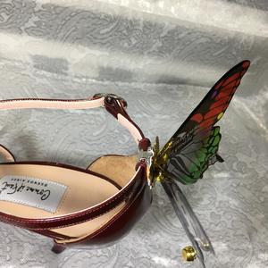 蝶型シューズクリップ 不動行光