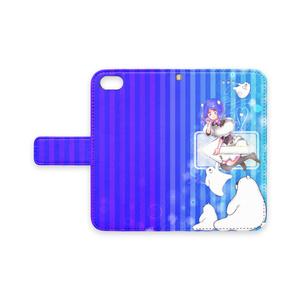 青色のiPhoneケース