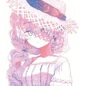 イラスト集「活字の少女」