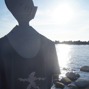 波乗り騎士Tシャツ