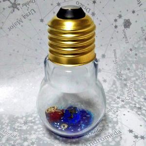 蝶星石の電球詰め